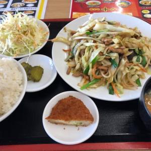 野菜炒め@興福順(群馬県伊勢崎市)(o^^o)