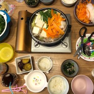 豚肉と鱈の鍋