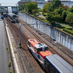 相鉄21000系、横浜線を走る