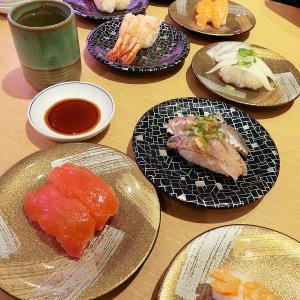 寿司ランチ と アイス