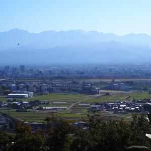 呉羽山と立山山麓