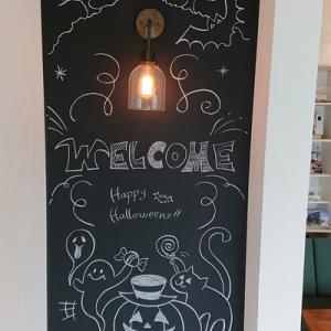 10月の黒板アート♪と近況報告