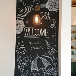 6月の黒板アート♪