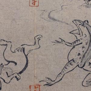 『謎の国宝 鳥獣戯画 楽しいはどこまで続く?』(NHK総合)を見た件+α