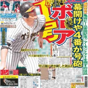 うちにもアベノマスクが来た件を前振りに、6月2日のプロ野球練習試合の件など