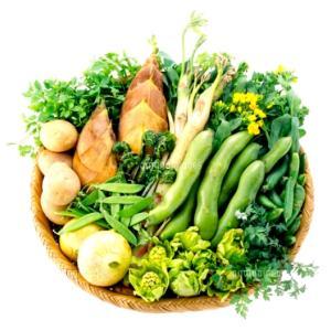 ぐんぐん伸びる野菜を食べて、溜まった毒素をどんどん排出!