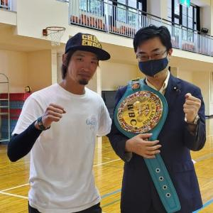 ★佐藤洋太元WBCスーパーフライ級王者に学ぶ★