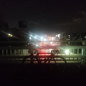 緑区夜錬開催です