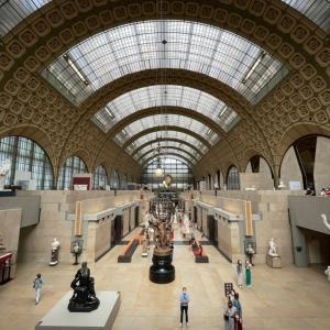 久々のオルセー美術館。