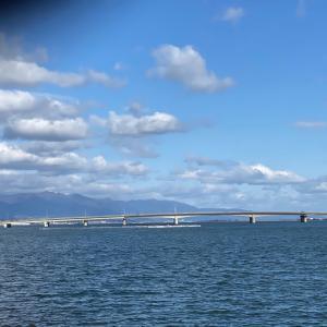 近江大橋と瀬田川