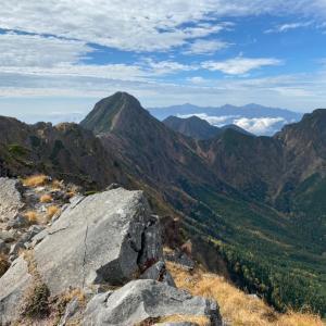 横岳 赤岳