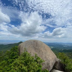 巨岩・奇岩の湖南アルプス