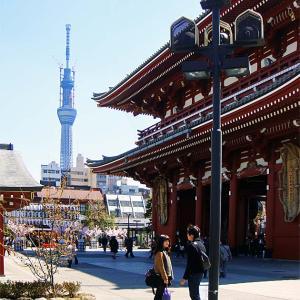 浅草寺とTOKYO SKY TREE