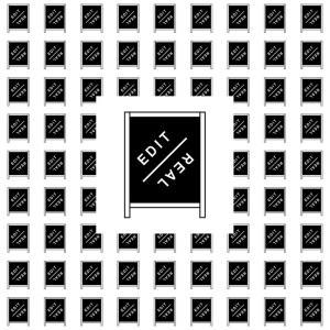 『EDIT/real』展 @ ART-Onion 白金2丁目