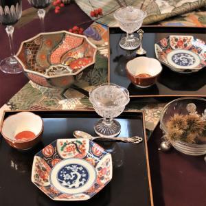 和洋折衷のテーブルコーディネート~長崎の卓袱料理を思い浮かべながら・・