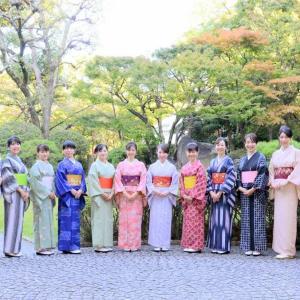 着物でおもてなし・・・和文化は素晴らしい。自分で着付けできたら、なお嬉しい♪