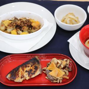 自家製調味料と保存食が大活躍!料理教室より。