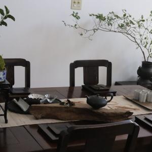 台湾茶席のコーディネート・・・そして、月餅の美味しさに悶絶!