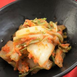 <レシピ公開>ビニール袋でもみもみ♪即席!手作り白菜キムチ