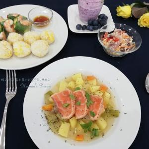 「もっと身近に♪魚介と野菜のデリ風レシピ」~にじいろふぁーみんの料理教室より