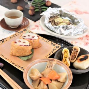 秋の和食ごはん~自宅教室より。