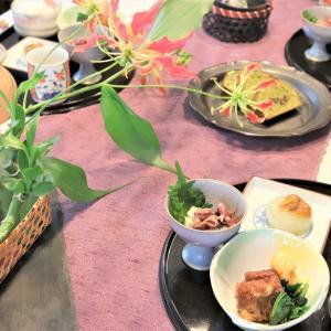 自宅でできる和食のおもてなし~5月の自宅料理教室より