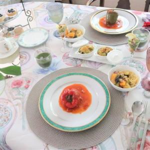 7月の自宅料理教室はキラキラ女子☆