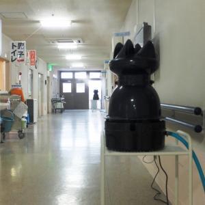 病院や施設でのインフルエンザ感染防止に遠心式加湿器が活躍。
