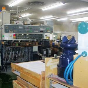 遠心式加湿器が印刷工場の静電気発生防止で活躍中