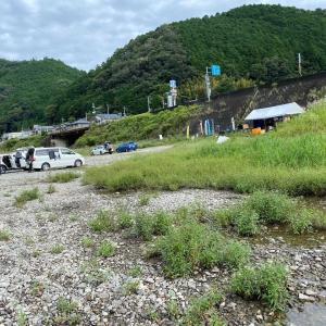 二日目は吉野川から高見川