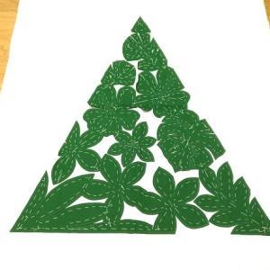 グリーンのアロハツリー