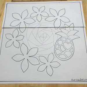 Aloha Quiltの新しいデザイン完成