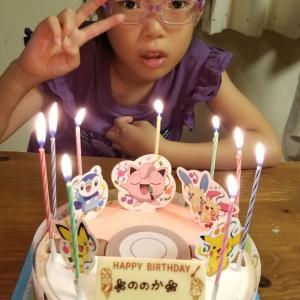 お誕生日ケーキは