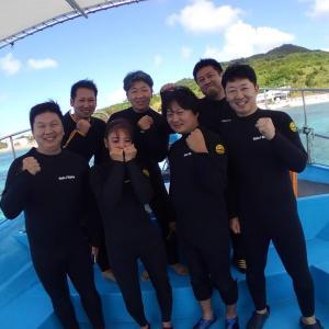 初ダイビング!