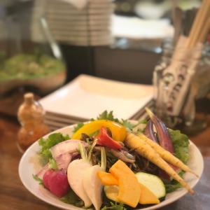 産直食材卸し直営バル!いろとりどり鎌倉野菜といろいろ肉串@浅草橋アカネコ (浅草橋)