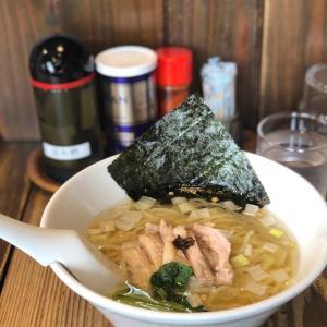 あっさりお吸い物のような昆布の塩らーめん@昆布の塩らー麺専門店 マニッシュ (浅草橋)