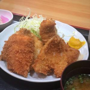 銀座でこのコスパ!?平日ランチ限定15食の魚フライ定食@とんかつ不二 (銀座)