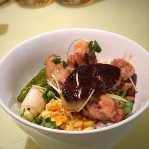 毎週水曜日限定ランチ!第4週はフォワグラのせ焼き鳥丼@銀座フォワグラ (銀座)