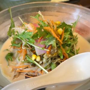 サラダ?!野菜盛々&冷や辛の冷やしちゃんぽん@リンガーハット (浅草)