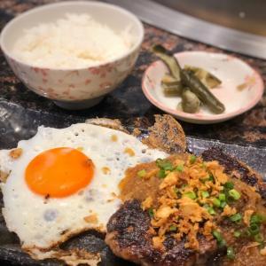 限定2食なんてことも!挽肉じゃない黒毛和牛のハンバーグ@steakdining鷹 (御徒町)