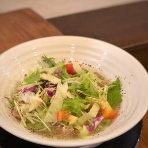 柚子胡椒香るトロトロ白湯スープの柚子塩冷やし鶏麺@濃厚鶏麺 ゆきかげ (浅草)