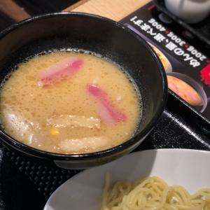 暑過ぎて「冷やしメニュ」が間に合わないとな?代わりに…つけ麺@リンガーハット (浅草)