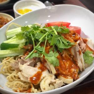 今夏も復活!蒸し鶏と本場成都のシビ辛タレ棒々鶏冷麺@晴々飯店 (上野)