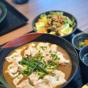 バーのランチがすばらしい!豚しゃぶスープカレー定食@ノマンカクワンカ (浅草)