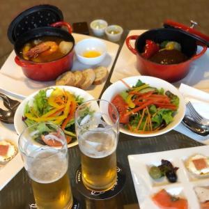 ルームサービスディナー&ボトルビール2本付きプラン@庭のホテル (水道橋)