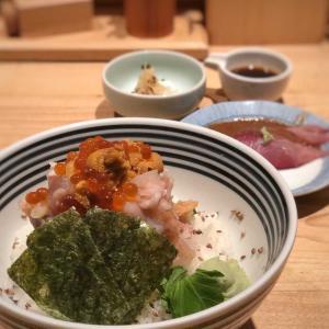 海鮮9種盛り!まぐろ・貝・イカ・エビ・雲丹… 贅沢海鮮丼@つじ半 アークヒルズ店 (六本木一丁目)