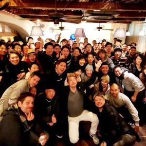 渋谷でピッツァ職人の大忘年会が開催されました!
