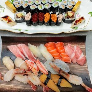 懐かしの出張先の寿司。ランチ、ディナー、テイクアウト大歓迎。蒸し暑さを吹き飛ばしましょう