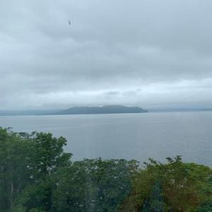 夏の北海道㉔ 4日目は屈斜路プリンスホテル 全室から屈斜路湖が見える