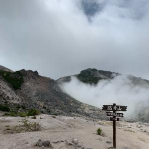 夏の北海道㉕ 硫黄のにおいとパワフルな硫黄山(アトサヌプリ)